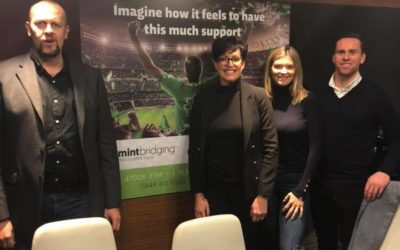 At Old Trafford with Mint Bridging