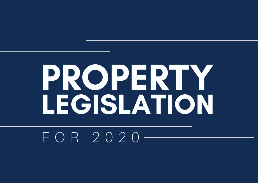 2020 Legislation Changes Property Investors Need to Know